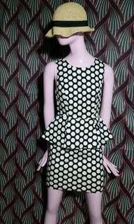 Forever21 peplum dress