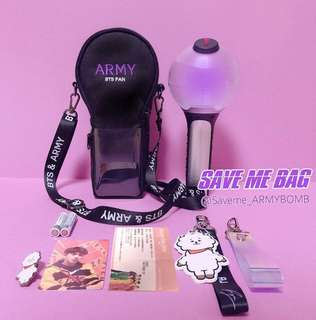 [MY GO] BTS Army Bomb 'save me bag'