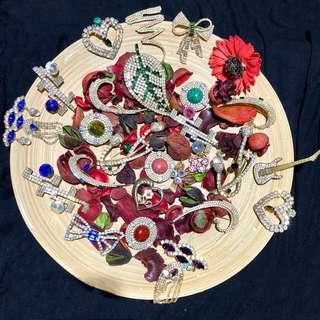 🚚 華麗西洋古董飾品 / pins   NT.199-699 請發問