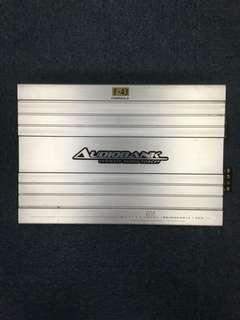 Audiobank 4 ch car Amplifier (600w)