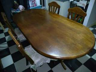Dining Table with Free Chairs
