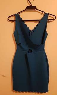 Topshop ~ Mini dress crisscrossed