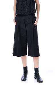 TEM black abbey culottes