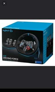 Logitech G29 Driving Force Steering Wheel (PS4/PS3/PC)