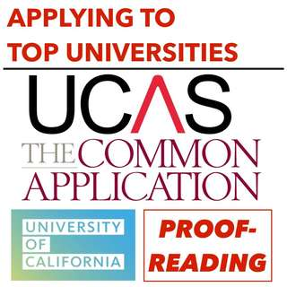 UK/US/SG TOP UNIVERSITY APPLICATIONS