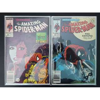 Amazing Spider-Man #308,#309 (1988, 1st Series) Set of 2, Todd McFarlane's Awesomeness!
