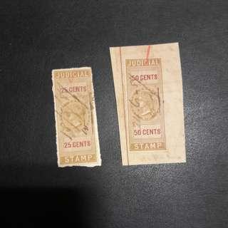 Judicial stamp