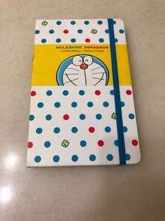 Moleskine Doraemon Limited Edition Notebook Large Ruled White Hard Cover (5.5x8)