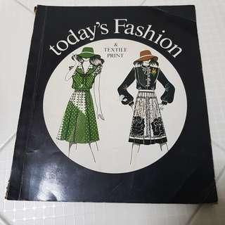 #12 Textile print book