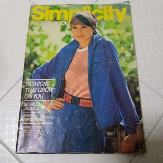 #13 Simplicity Pattern Book