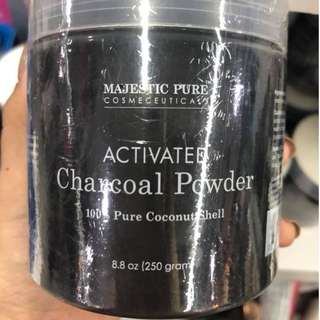 Majestic Pure Activated charcoal powder  250 grams