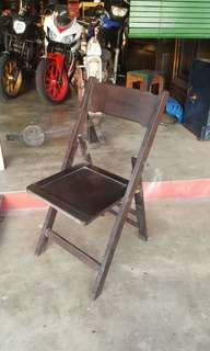 Antique Kopitiam Folding Chair