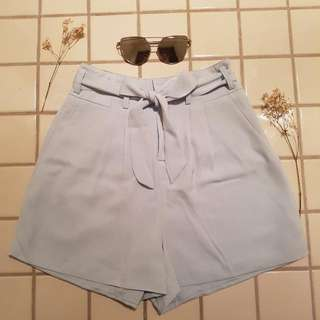 Blue Bow Shorts