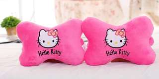 PO : Super Cute And Soft Plush Hello Kitty Car Seat Head Rest