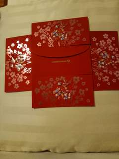 Commerz Bank Red Packets (5 nos)