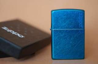 美國 ZiPPO打火機 24534ZL Cerulean 蔚藍的