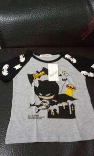 全新 小童7號 蝙蝠俠上衣