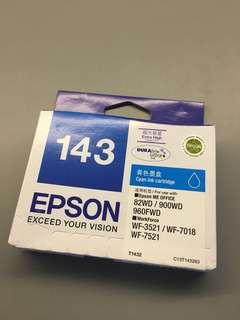 Epson Ink 143 Cyan Ink Cartridge extra high capacity