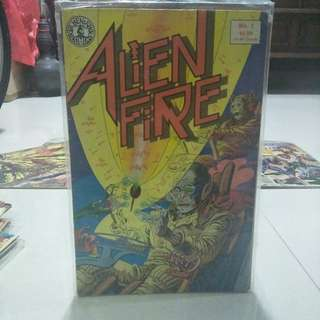 Alien Fire Comic