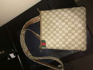 Authentic Gucci Messenger Bag