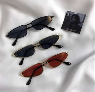 (PREORDER) Chic 90's metal sunnies