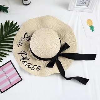 Beach Hat **Straw Hat**