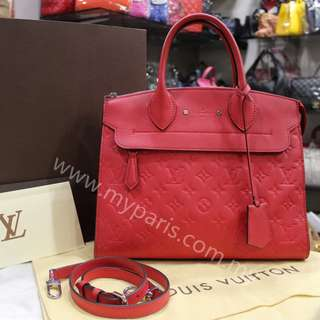 Louis Vuitton Monogram Empreinte Leather Pont Neuf MM