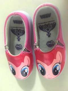 Pinkie pie pony half loafers shoe for 3 to 4 years old