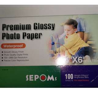 Sepoms Premium Glossy Photo Paper $5