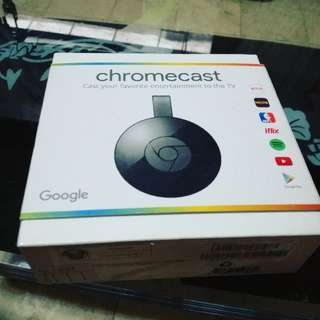 Chromecast v.2 brand NEW SEALED w/ NTC SEAL