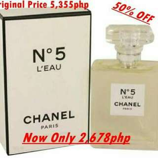 Repricing Authentic Chanel perfume and lotion