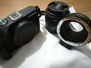 Canon EOS M3 + Kitlens + Lens Adapter (Swap/Sell)