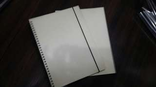 B5 MUJI INSPIRED NOTEBOOK [Php 80 each!]