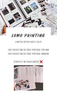 Polaroid Photo Printing promotion