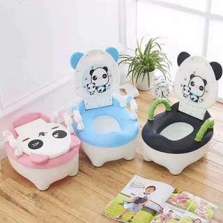 Panda potty trainer