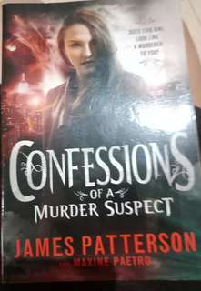 Confession of a murder suspect Novel