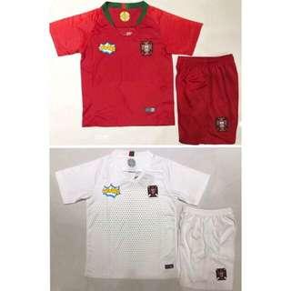2018 Portugal Kids jersey