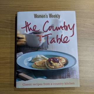 "AWW ""The Country Table"" Cookbook"
