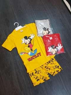 Mickey Shorts Set