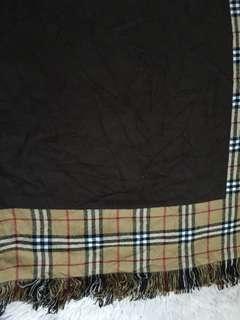 Authentic Burberry London Cashmere/ travel blanket/ wrap/ shawl
