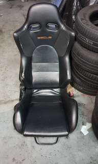 Sscus semi bucket sport seat with CS3 lancer rail