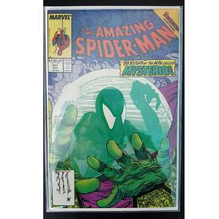 Amazing Spider-Man #311 (1989, 1st Series) Todd McFarlane's Awesomeness! Vs Mysterio!