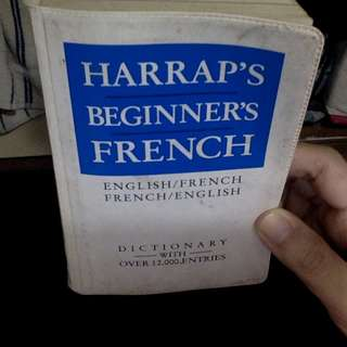 Harrap's Beginner's French (English/French) #sweldosale8