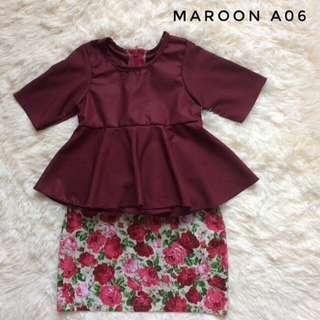 Peplum Baby + Skirt