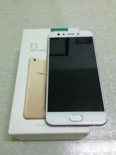 Oppo f3 64gb Gold color