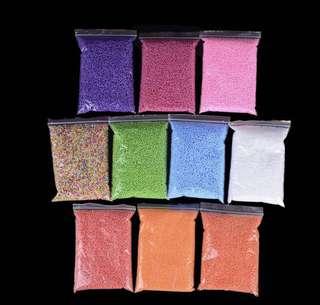 [PO] Coloured foam beads