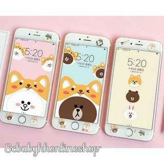 預購🍓 Line Friends(熊大/cony/sally) 手機Mon貼 玻璃mon貼