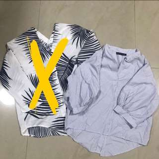 ASSORTED LONG SLEEVE TOPS