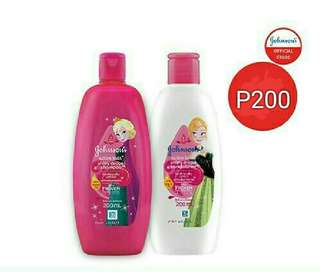 Johnson's shiny drops shampoo / conditioner 200ml
