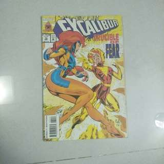 Marvel Excalibur Comic